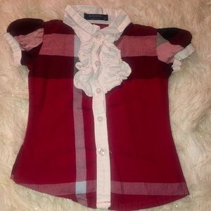 Burberry button-up for girl